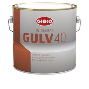Gulv 40 Oljebasert (Gulvmaling 40)